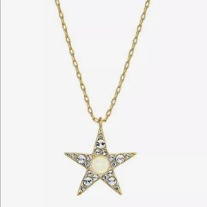 Kate Spade seeing stars pave star pendant necklace